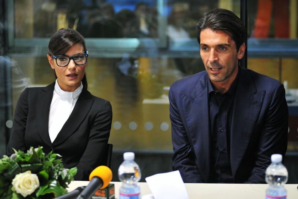 """Ilaria D'Amico: """"Gigi Buffon, conflitto di interessi? No, è uno dei tanti"""""""