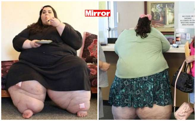 Ambra Rachdi, 24 anni, 292 chili. Rischia di morire, così perde 127 chili