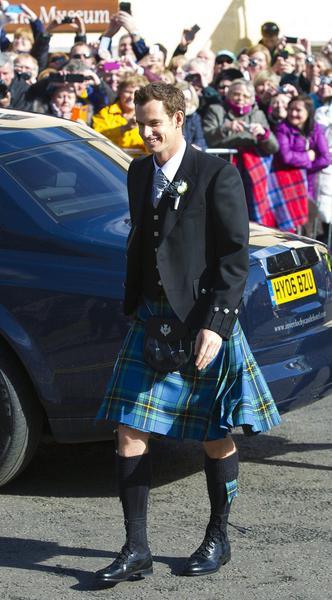 Matrimonio In Kilt : Andy murray matrimonio in kilt con kim sears ladyblitz