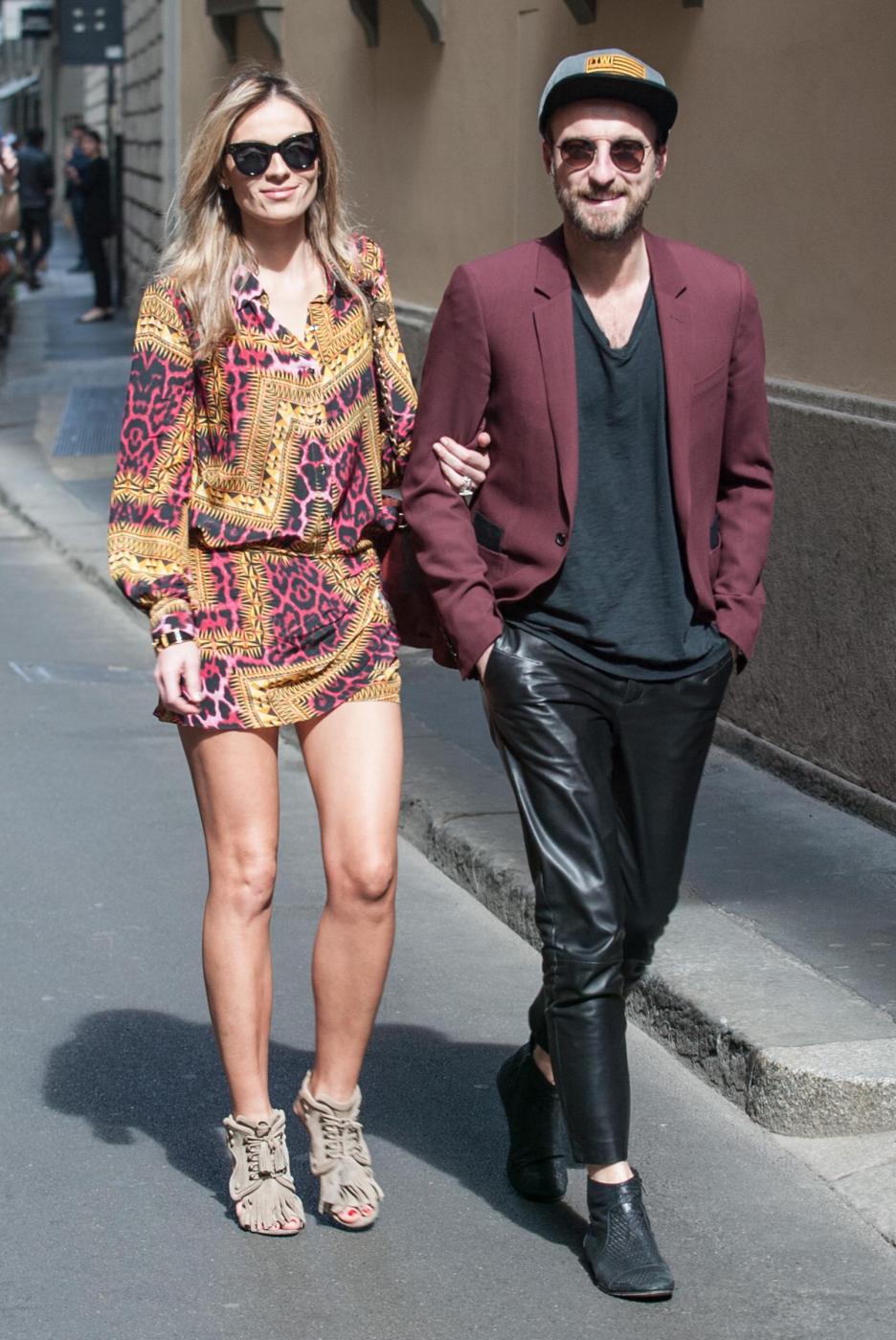 Francesco Facchinetti, shopping a via Montenapoleone con Wilma Faissol21