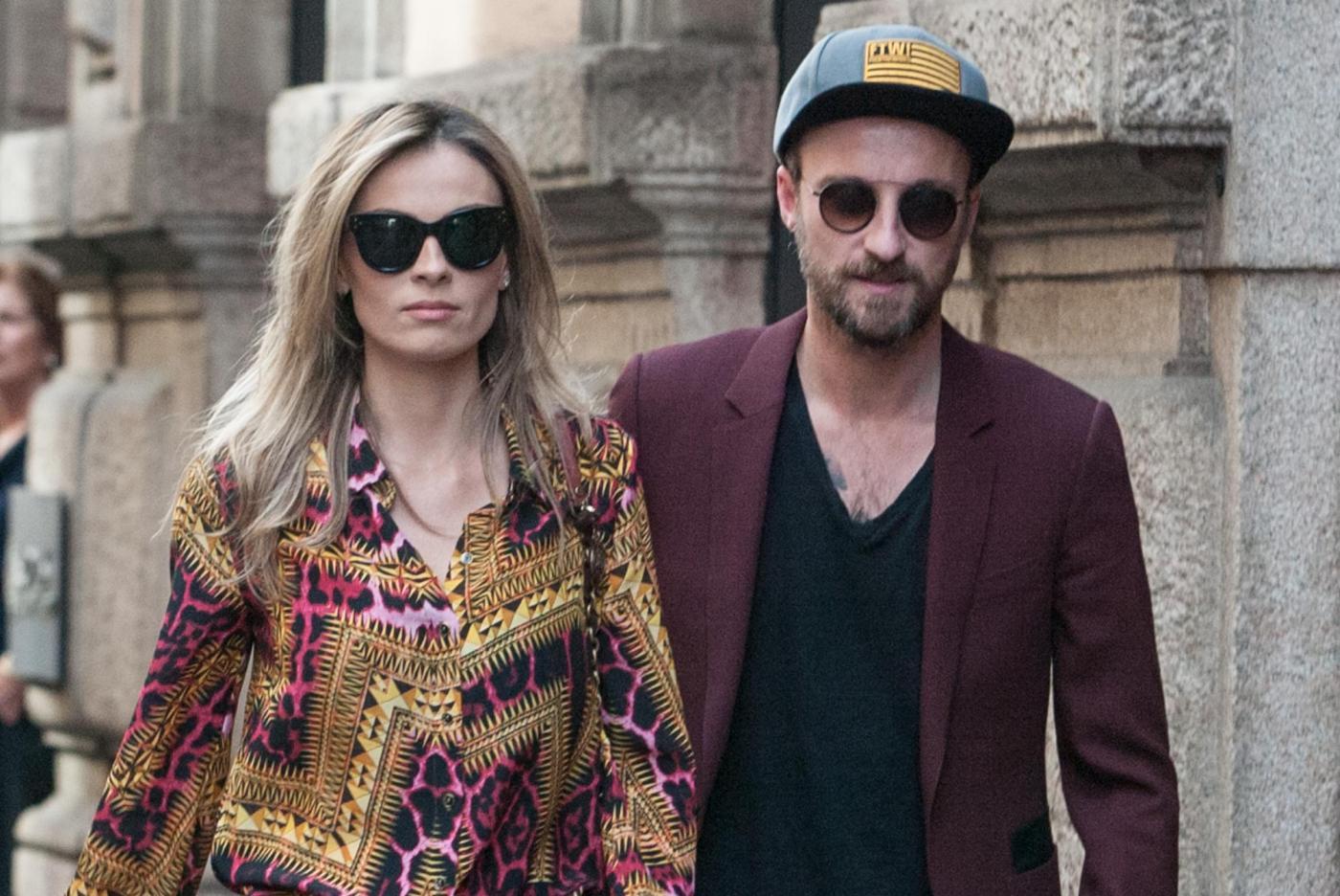 Francesco Facchinetti, shopping a via Montenapoleone con Wilma Faissol06