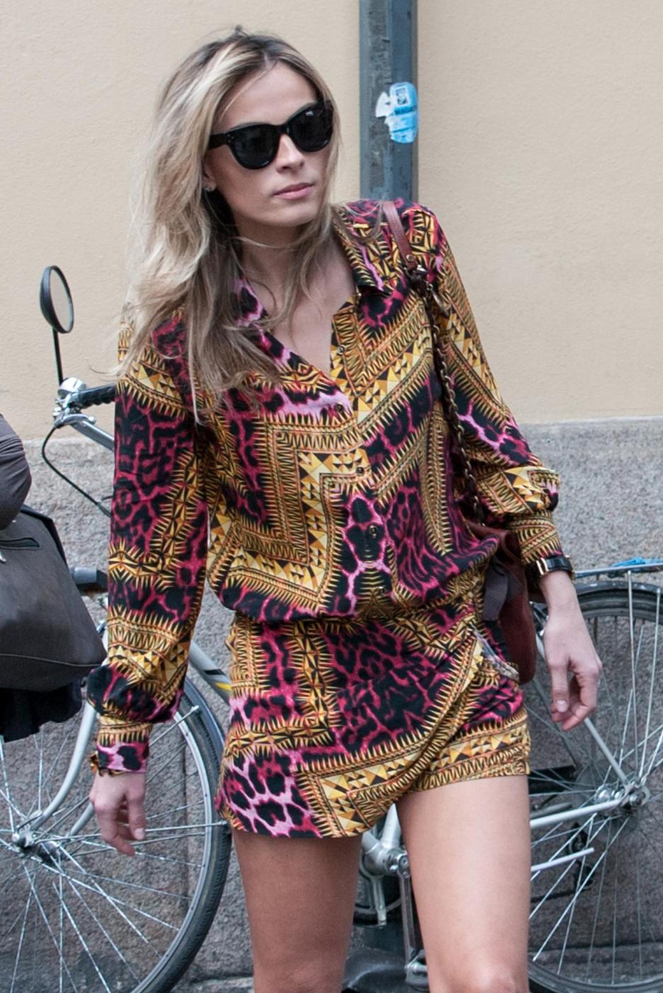 Francesco Facchinetti, shopping a via Montenapoleone con Wilma Faissol15