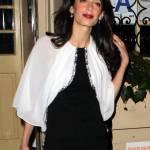 Amal Alamuddin e le gambe magrissime della signora Clooney FOTO 2