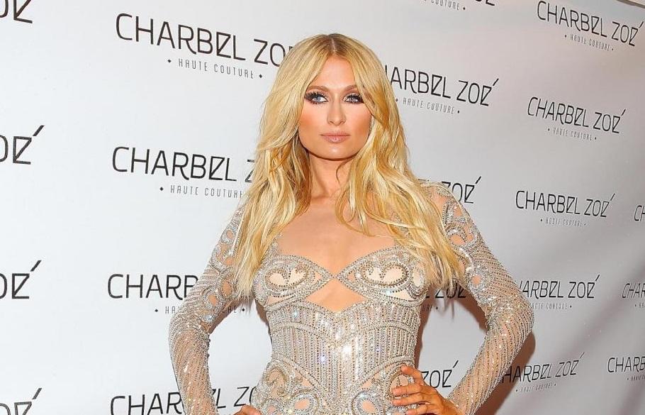 Paris Hilton ospite alla serata 'Charbel Zoe'