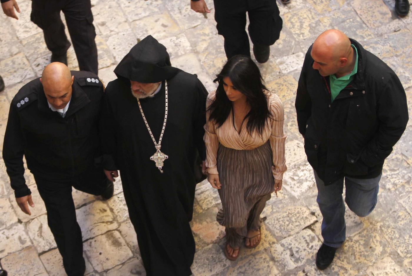 Kim Kardashian sceglie Gerusalemme per il battesimo della figlia North FOTO