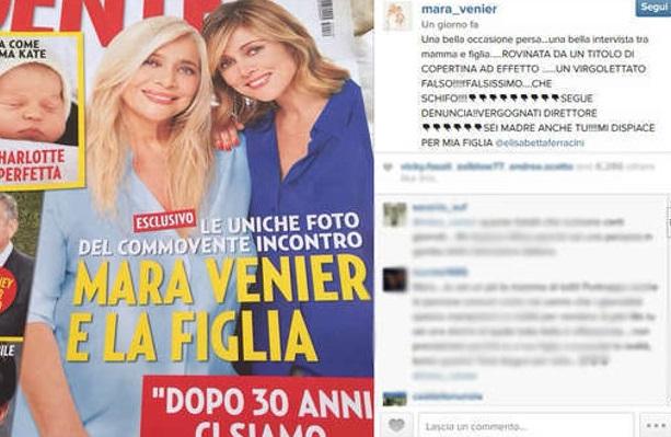 """Mara Venier contro Gente: """"Vergogna, vi denuncio!"""". Ecco cosa è successo"""