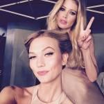 Cannes. Eva Longoria, Salma Hayek, Doutzen Kroes: FOTO Instagram prima red carpet02