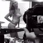 Martina Stella sexy in lingerie: testimonial Cotonella FOTO4
