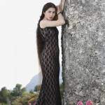Zaryana, la modella con i capelli più lunghi del mondo FOTO 9