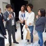 Agnese Renzi visita Expo con 3 amiche FOTO02