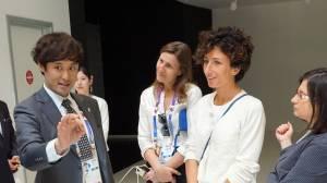 Agnese Renzi visita Expo con 3 amiche FOTO04