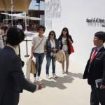 Agnese Renzi visita Expo con 3 amiche FOTO05