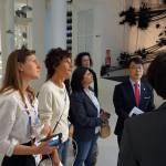 Agnese Renzi visita Expo con 3 amiche FOTO06