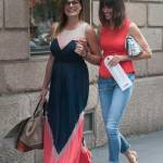 Alena Seredova fa shopping in via Montenapoleone a Milano FOTO 10