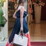 Alena Seredova fa shopping in via Montenapoleone a Milano FOTO 15