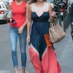 Alena Seredova fa shopping in via Montenapoleone a Milano FOTO 4