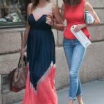 Alena Seredova fa shopping in via Montenapoleone a Milano FOTO 8