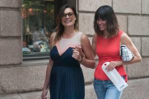 Alena Seredova fa shopping in via Montenapoleone a Milano FOTO 9