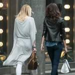 Anna Safroncik, relax e shopping in via Montenapoleone