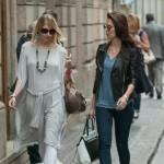 Anna Safroncik, relax e shopping in via Montenapoleone05