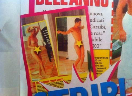 Brad Pitt-Gwyneth Paltrow: innamorati, giovani e...nudi. Le foto di Novella 2000