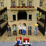 "Royal baby aggiunta alla ""Miniland Royal Family"" fatta con i Lego FOTO07"