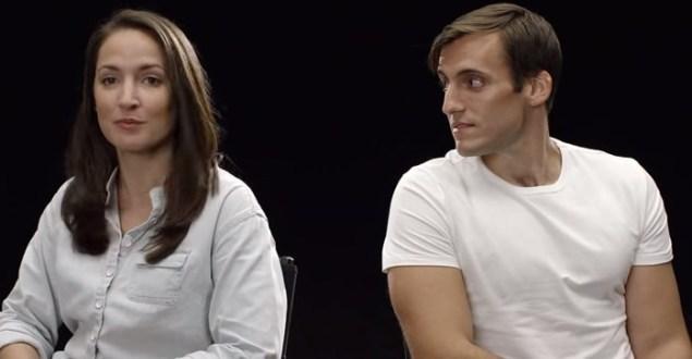 Giovane coppia invecchia di 60 anni in pochi muniti. Si piaceranno? VIDEO esperimento