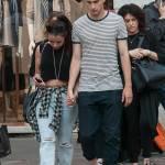 Matteo Darmian mano nella mano con la fidanzata Francesca09