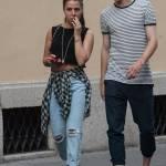 Matteo Darmian mano nella mano con la fidanzata Francesca7