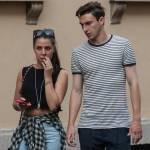Matteo Darmian mano nella mano con la fidanzata Francesca16