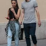 Matteo Darmian mano nella mano con la fidanzata Francesca14