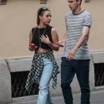 Matteo Darmian mano nella mano con la fidanzata Francesca131
