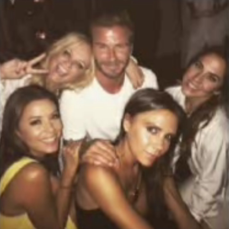 David Beckham festeggia 40 anni con famiglia e Spice Girls (quasi) al completo FOTO05