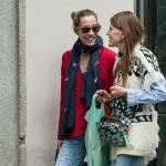 Anna Dello Russo a Milano con l'amica fotografa Micol Sabbadini 10