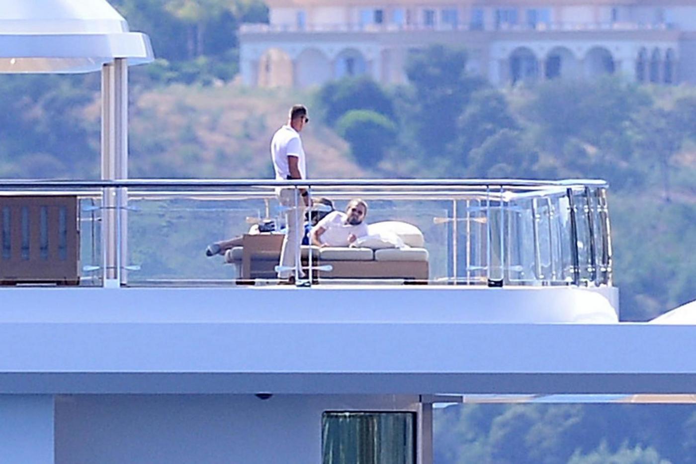 Leonardo DiCaprio in Costa Azzurra sul mega yacht: dopo Cannes Montecarlo
