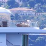Leonardo DiCaprio in Costa Azzurra sul mega yacht: dopo Cannes Montecarlo 13