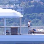 Leonardo DiCaprio in Costa Azzurra sul mega yacht: dopo Cannes Montecarlo 10