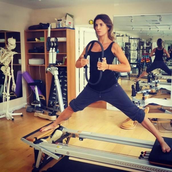 Elisabetta Canalis e lo sport premaman FOTO 4