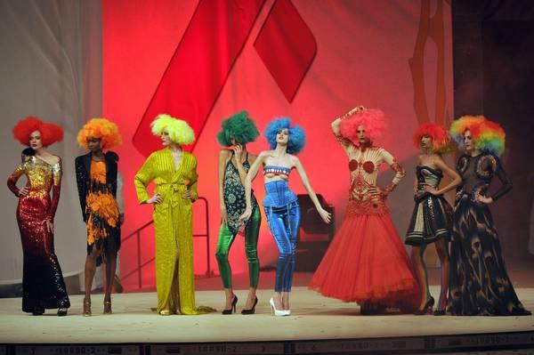 Life Ball a Vienna: Sean Penn, Charlize Theron, Dita von Teese, Conchita Wurst