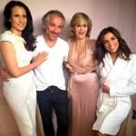 Cannes. Eva Longoria, Salma Hayek, Doutzen Kroes: FOTO Instagram prima red carpet12