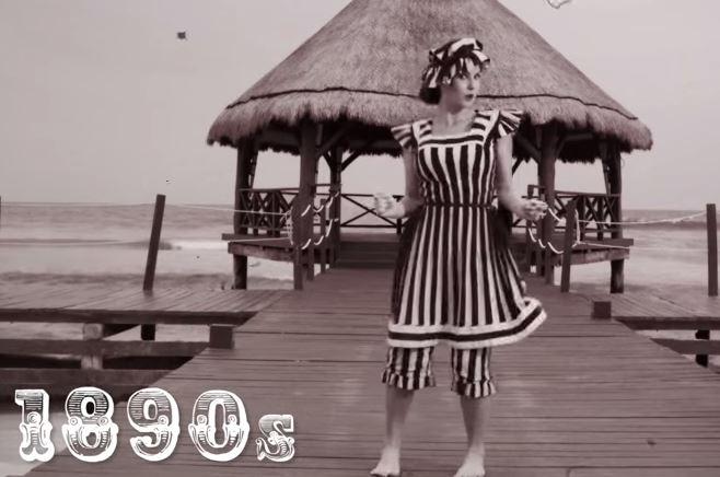 Video i costumi da bagno dalla fine del 1800 a oggi ladyblitz - Costumi da bagno del 1900 ...