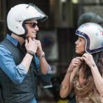 Federica Torti scollatissima: in moto con un amico per le vie di Milano17