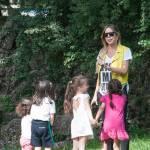 Guendalina Canessa, mamma e animatrice al parco pubblico11