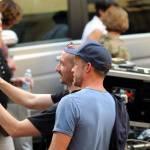 "Firenze, Ron howard e Tom Hanks sul set di ""Inferno"" 32"