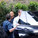 "Firenze, Ron howard e Tom Hanks sul set di ""Inferno"" 14"