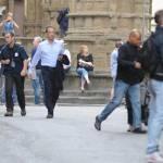 "Firenze, Ron howard e Tom Hanks sul set di ""Inferno"" 11"