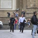 "Firenze, Ron howard e Tom Hanks sul set di ""Inferno"" 05"