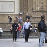 "Firenze, Ron howard e Tom Hanks sul set di ""Inferno"" 04"