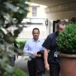 "Firenze, Ron howard e Tom Hanks sul set di ""Inferno"" 02"