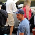 "Firenze, Ron howard e Tom Hanks sul set di ""Inferno"""